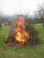 Osterfeuer 2006 at the PertlBergers in Styria