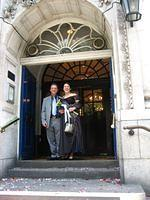 Sandrine's & Richard's Wedding in London - August 2006